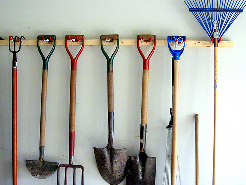 Garden tools via Andrea_44, Flickr