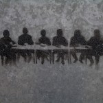 Graffiti image of a meeting, image via clagnut, Flickr