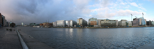 Dublin docklands image via Jacobo Tarrio, Flickr