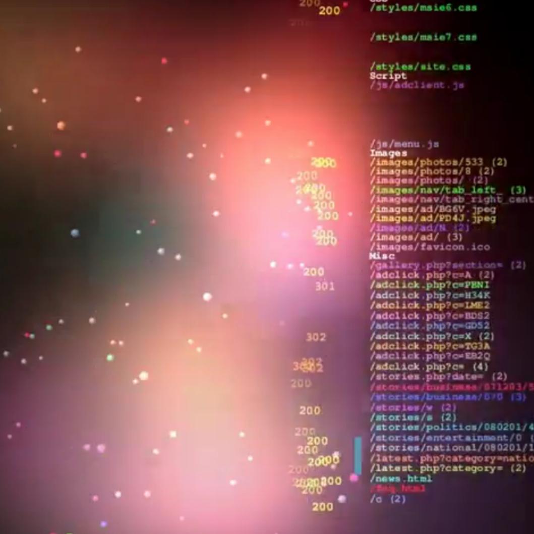 logstalgia http://code.google.com/p/logstalgia/
