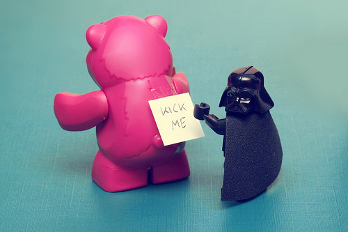 Welcome to the Dark Side, image via pasukaru76, Flickr