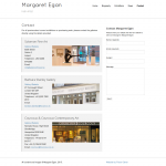margaret egan contact page