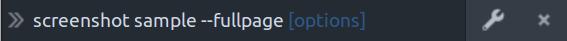 Screenshot command