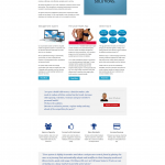 Performance tracking Solutions homepage