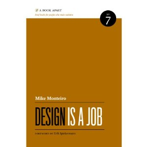 design is a job book cover